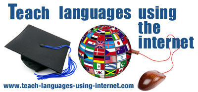 teach languages using internet