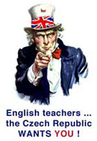 english teacher jobs cz